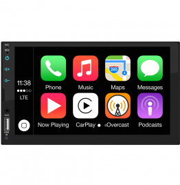 Apple CarPlay Android, Double Din Car Stereo